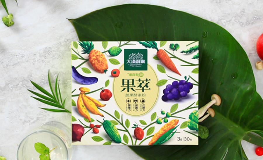 大漢酵素果萃蔬果酵素粉_