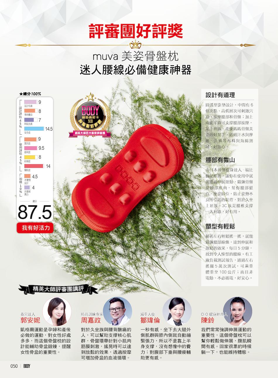第12屆 body oscar 評審團好評獎 3
